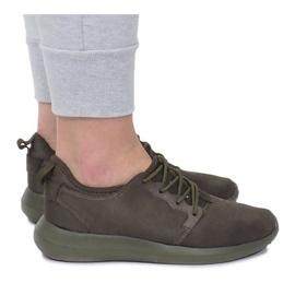 Sportowe obuwie do biegania F368-4 Zielony zielone