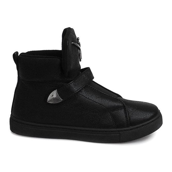 Sneakersy AN25 Czarny czarne