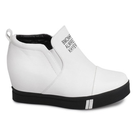 Sneakersy TL252A Biały białe