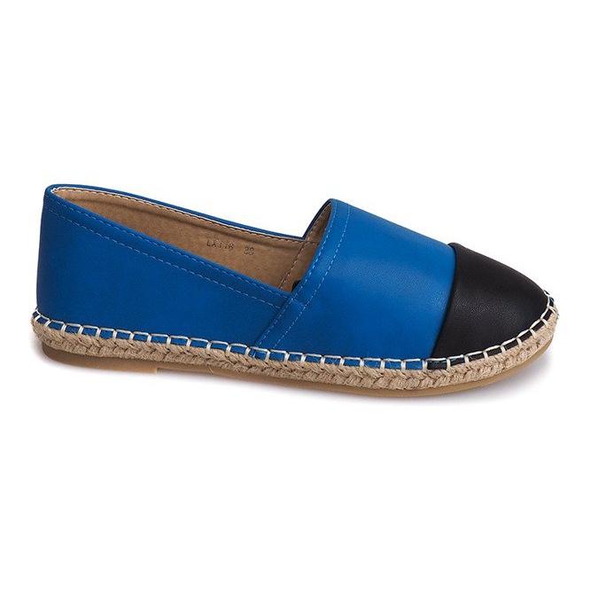 Trampki Espadryle LX116 Niebieski niebieskie