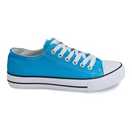 Niebieskie Trampki Konwersy B010 Niebieski