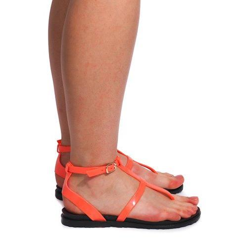 Sandały Meliski LS01 Różowy różowe