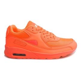 Sportowe obuwie do biegania D1-16 Orange pomarańczowe
