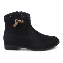 Botko Kowbojki 99-241 Czarny czarne