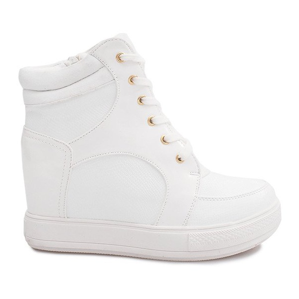 Suwak Sneakersy ORF15-4 Biały białe