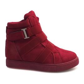 Sneakersy Na Gumki XY-297 Fushia różowe