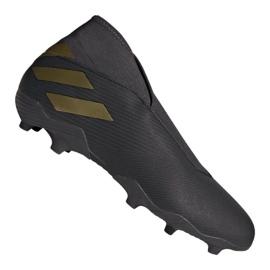 Buty piłkarskie adidas Nemeziz 19.3 Ll Fg M EF0371 czarne czarny
