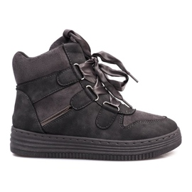 Szare sneakersy Paule