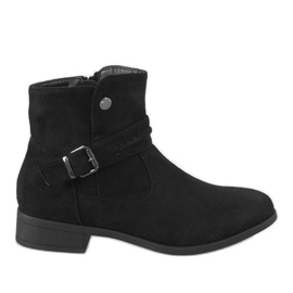 Kayla Shoes Czarne botki JKD-52