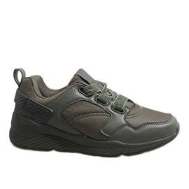 Zielone obuwie sportowe 520-7