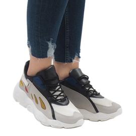 Wielokolorowe modne obuwie sportowe 9115