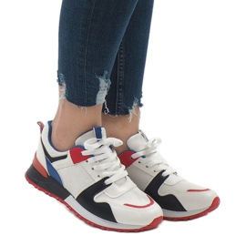 Wielokolorowe modne obuwie sportowe 2018-7 Black