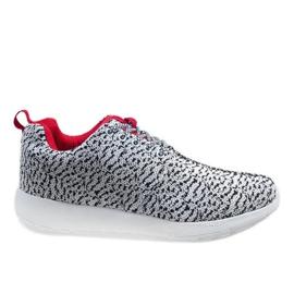 Białe obuwie sportowe LD19-7