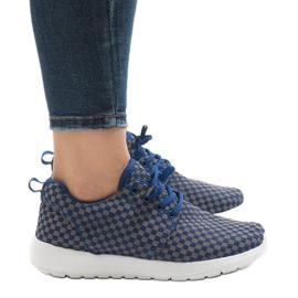 Niebieskie obuwie sportowe A5126