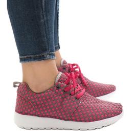 Różowe obuwie sportowe A5126