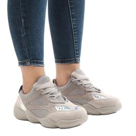 Szare buty sportowe MS522-26