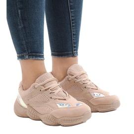 Różowe buty sportowe MS522-11