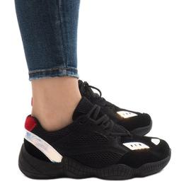 Czarne buty sportowe MS522