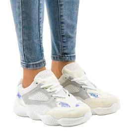 Białe buty sportowe MS522-9
