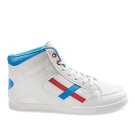 Białe męskie obuwie sportowe HY-1607