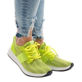Zielone obuwie sportowe 275-Y
