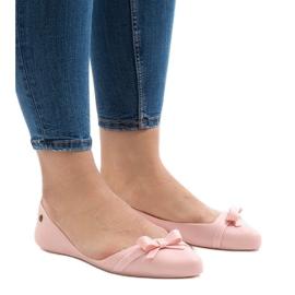 Różowe balerinki JX1018-6