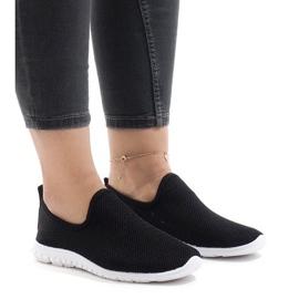 Czarne obuwie sportowe 909-17