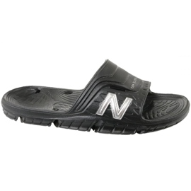 Klapki New Balance M SD104BS czarne