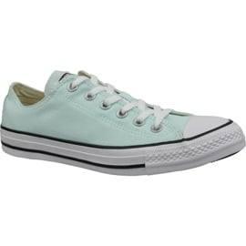 Niebieskie Buty Converse C. Taylor All Star Ox Teal Tint W 163357C