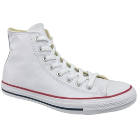 Białe Buty Converse Chuck Taylor All Star Hi Leather W 132169C