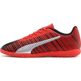 Buty piłkarskie Puma One 5.4 It Jr 105654 01 czerwony czerwone