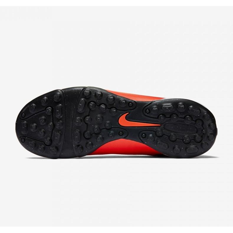 Buty piłkarskie Nike Mercurial Vortex Ii Tf Jr 651644-650 czerwone czerwony