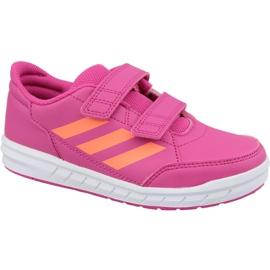 Buty adidas AltaSport Cf Jr G27088 różowe