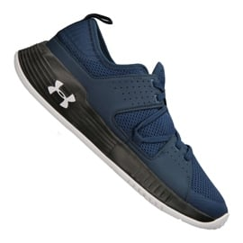 Granatowe Buty treningowe Under Armour Showstopper 2.0 M 3020542-414