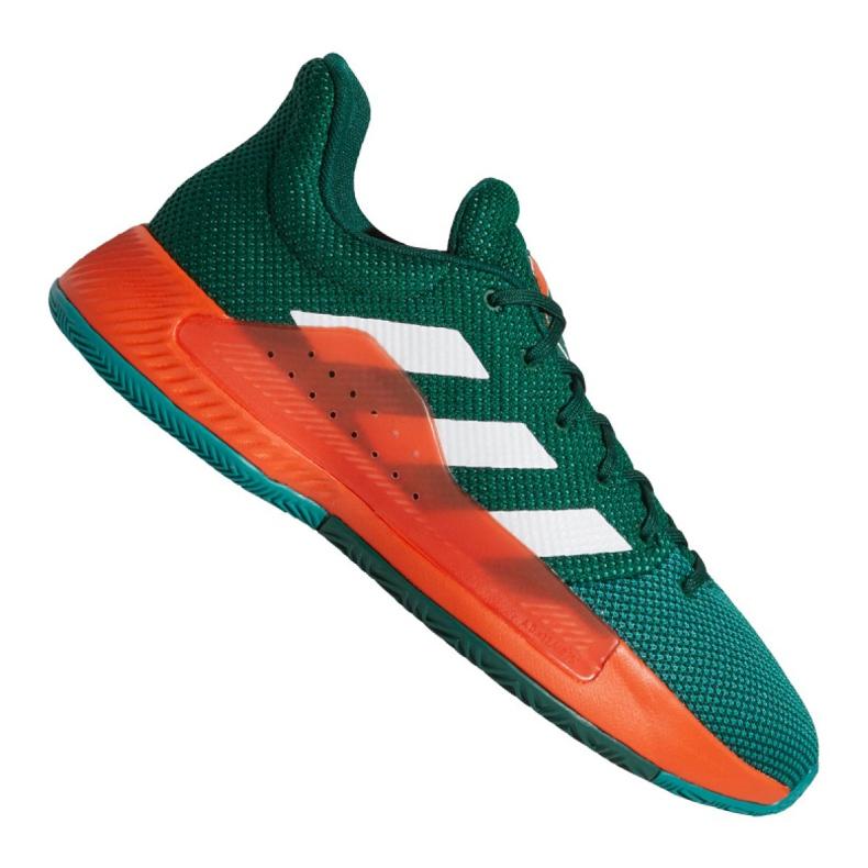 Buty koszykarskie adidas Pro Bounce Madness Low 2019 M BB9226 zielone zielone