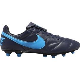 Buty piłkarskie Nike The Premier Ii Fg M 917803 440 granatowe granatowe