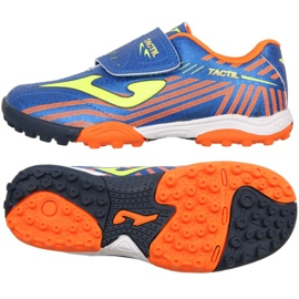 Buty piłkarskie Joma Tactil 904 Tf Jr TACW.904.TF niebieskie niebieski