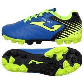 Buty piłkarskie Joma Toledo 904 Fg Jr TOLJW.904.24 niebieski niebieskie