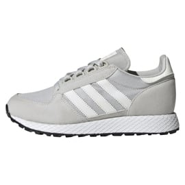 Szare Buty adidas Originals Forest Grove Jr EE6565