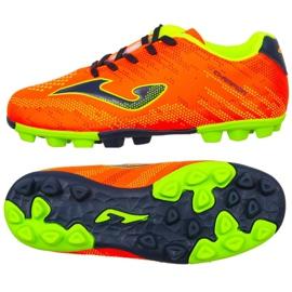 Buty piłkarskie Joma Champion Jr 908 Fg CHAJW.908.24 pomarańczowy pomarańczowe