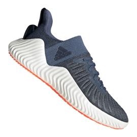 Buty biegowe adidas Alphabounce Trainer M CG6237 niebieskie