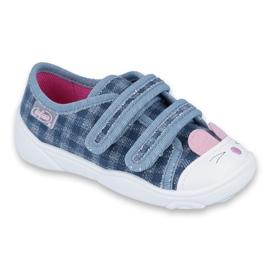 Niebieskie Befado obuwie dziecięce  907P107