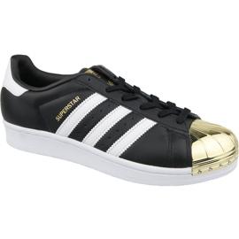 Czarne Buty adidas Superstar W Metal Toe W BB5115