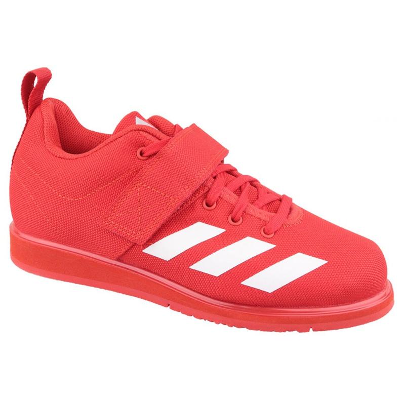 Buty adidas Powerlift 4 W BC0346 czerwone