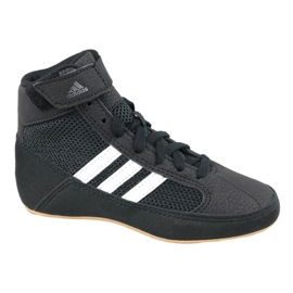 Czarne Buty adidas Havoc K Jr AQ3327