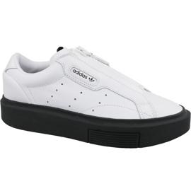 Białe Buty adidas Sleek Super Zip W EF1899