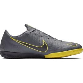 Buty piłkarskie Nike Mercurial Vapor X 12 Academy Ic szare M AH7383 070