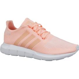 Różowe Buty adidas Swift Run Jr CG6910