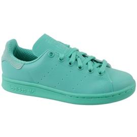 Niebieskie Buty adidas Stan Smith Adicolor W S80250