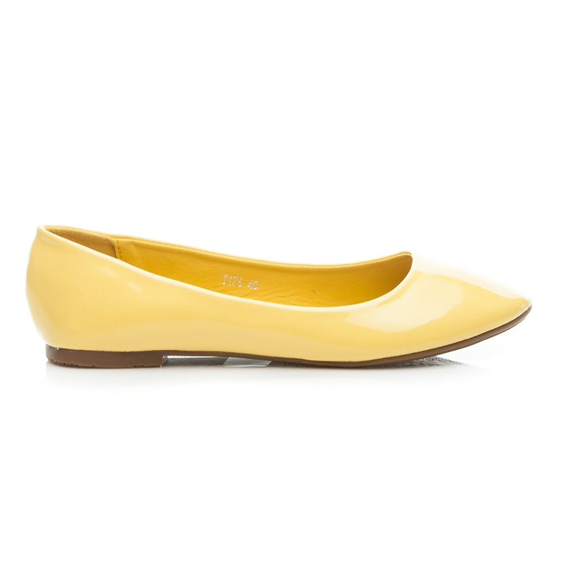 Seastar Lakierowane Baleriny żółte
